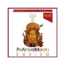 Marco Antonio Solis - Por Amor A Morelia Cd/dvd ( Zona Sur )