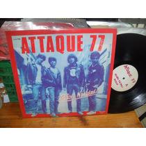 Attaque 77 Dulce Navidad Test Press!! Vinilo Lp Punk Tripoli