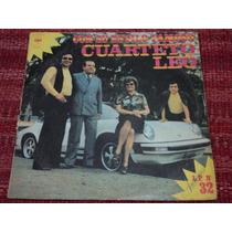 Disco De Cuarteto Leo - Con Su Estilo Famoso