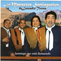 Los Manseros Santiagueños Santiago Me Esta Llamando Cd 2015