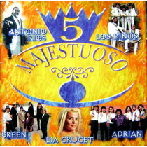 Cumbia De Los 90-majestuoso Vol 5- Cd Original