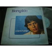Hernaldo A Tanto Fuego 1982 Vinilo Lp Argentina