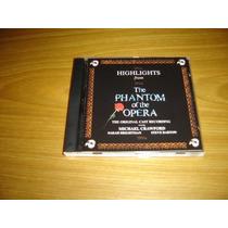 Phantom Of The Opera Cd Soundtrack Importado Sarah Brightman