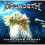 Megadeth Dvd That One Night Live In Buenos Aires Dvd
