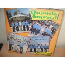 Quinteto Imperial A Nuestros Hermanos Lp Vinilo Cumbia 1986