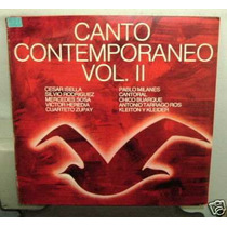 Mercedes Sosa Canto Contemporaneo Vol 2 Vinilo Argentino Pro