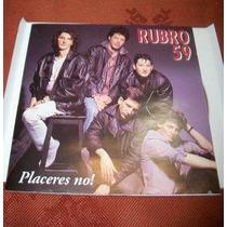 Rubro 59 Placeres No Cd Nuevo