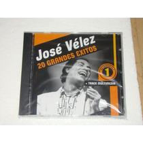Jose Velez 20 Grandes Exitos Cd Nuevo Sellado