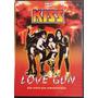 Dvd Kiss - Love Gun ( Vivo Argentina ) Big Bang Rock
