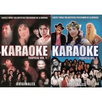 Karaoke Tropical Vol.1 Y 2 - Gilda, Leo, Palmeras, Rafaga