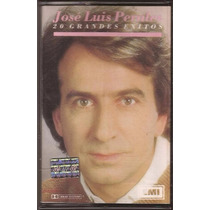 Jose Luis Perales 20 Grandes Exitos Cassette 1991 Nuevo!
