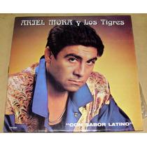 Ariel Mora Y Los Tigres Con Sabor Latino Lp Argentino Promo