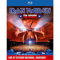Iron Maiden - En Vivo! - Blu Ray Importado