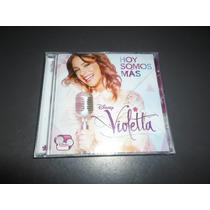 Violetta - Hoy Somos Mas * Cd Nuevo Cerrado