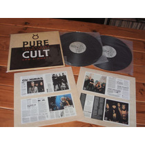 The Cult Pure Cult Lp Doble Brasil Vinilo Gotico Mission New