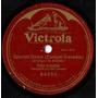 Fritz Kreisler Spanish Dance Single Sided 78 R. P. M.