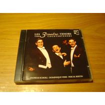 Les 3 Contre-tenors Countertenors Cd Scholl Visse Bertin