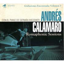 Andres Calamaro - Romaphonic Sessions Cd 2016