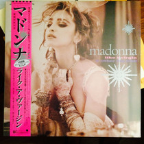 Madonna - Like A Virgin ~vinilo Color Rosa Importado Europa