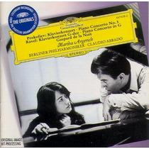 Prokofiev/ravel Argerich&abbado !!! Edicion Nacional