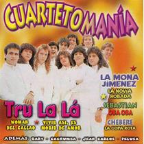 Cd Original Cuarteto Tru La La La Mona Gimenez Sebastian