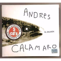 Andres Calamaro El Salmon 5 Cd Box Oferta Los Rodriguez
