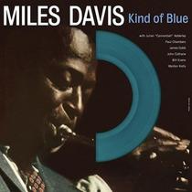 Miles Davis Kind Of Blue Vinilo Azul Lp 180g Importado Nuevo