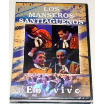 Los Manseros Santiagueños En Vivo Dvd Sellado