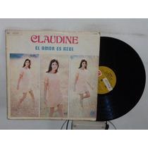 Claudine El Amor Es Azul Vinilo Argentino