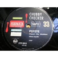 Chubby Checker - Limbo Rock / Popeye - Simple De Vinilo