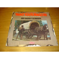Paint Your Wagon Lp Argentina Nuevo Clint Eastwood