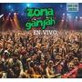 Zona Ganjah En Vivo 2 Cd + Dvd Original Promo 5x1