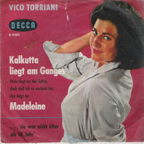 Vico Torriani Simple Vinilo Con Tapa Alemania.