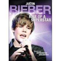Dvd Justin Bieber Rise Of A Superstar Nuevo Original $49.90