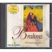 Los Genios De La Musica Clasica - Brahms Cd. Original