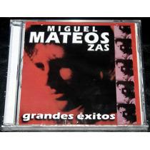 Miguel Mateos Zas Grandes Extios Cd Nuevo Cerrado Oca Mp Me