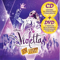 Violetta - En Vivo Cd Dvd Lacuevamusical