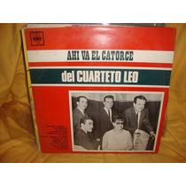 Vinilo Cuarteto Leo Ahi Va El Catorce 14 P3