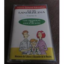 Luis Landriscina Ley Fereral De Educación