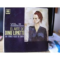 El Arte De Dino Lipatti. Los 14 Valses De Chopin.. Vinilo