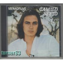 Cd *** Camilo Sesto *** Memorias *** Orig Español Nuevo Sell