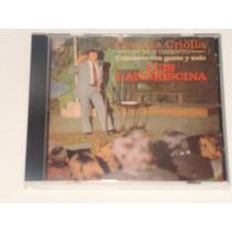 Luis Landriscina Cantata Criolla Cd Bajado De Lp