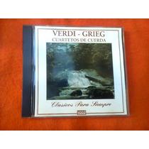 Verdi - Grieg Cuartetos De Cuerda.