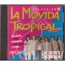 La Movida Tropical Cd 10 Malagata Alcides Badi Karina Crucet