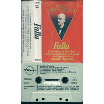 Manuel De Falla Genios Musica Española Cassette España