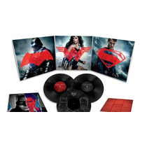Batman Vs Superman Vinilo Importado Triple Nuevo