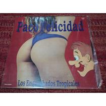 Disco Vinilo De Paco Felicidad Los Enganchados Tropicales
