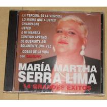 Maria Martha Serra Lima 14 Grandes Exitos Cd Nuevo Sellado