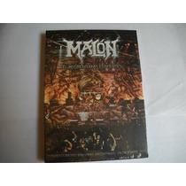 Malon - El Regreso!!- Dvd+cd Nuevo (iron Maiden-v8-hermetica