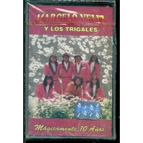 Marcelo Veliz Y Los Trigales Magicamnete 1 0años Cassette Nu